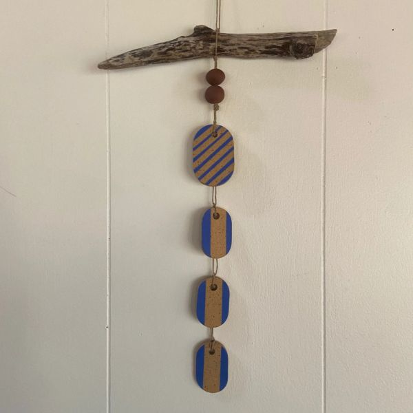 ceramic wall hanging J