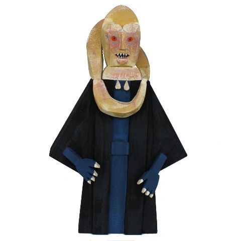 Bib Fortuna wood idol