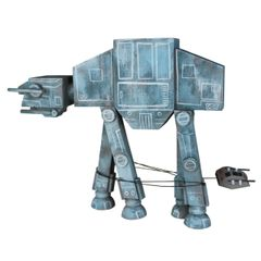 AT-AT wood sculpture