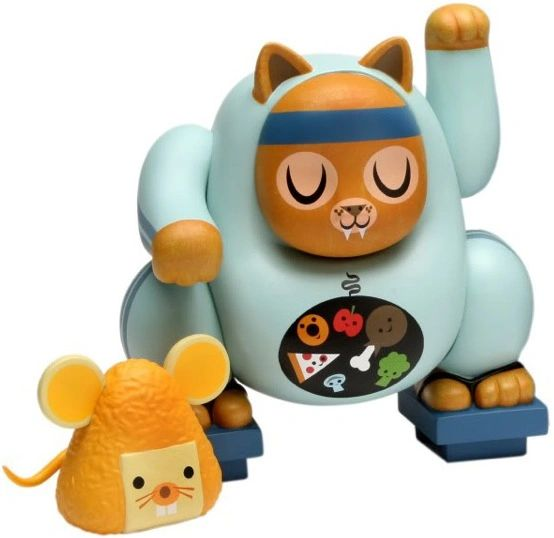 fat cat vinyl figure set