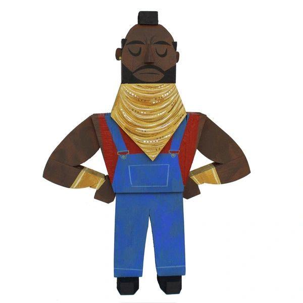 Mr T wood idol