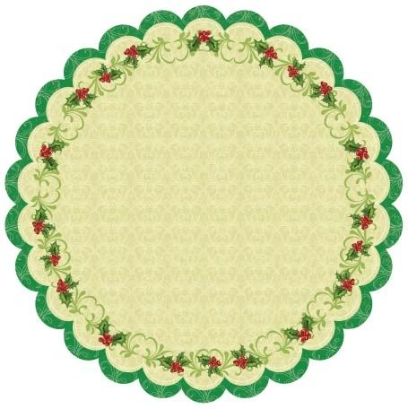 Best Creation Christmas Holly Die Cut (Merry Christmas Collection)