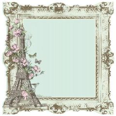 KaiserCraft Nancy Die Cut (Bonjour Collection)