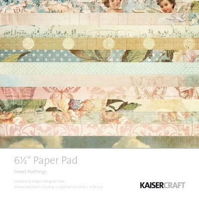 KaiserCraft 6.5 x 6.5 Paper Pad (Sweet Nothings Collection)