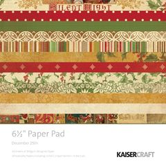 KaiserCraft 6.5 x 6.5 Paper Pad (December 25th Collection)
