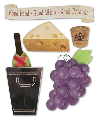 Karen Foster Winery/Culinary 3D Stacked Stickers (Bon Appetit Collection)