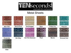 Ten Seconds Studio Metal Sheets
