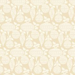 Anna Griffin Cream Ornaments (Twinkle Bright Collection)