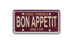 Karen Foster Bon Appetit Scrap Plate (Bon Appetit Collection)