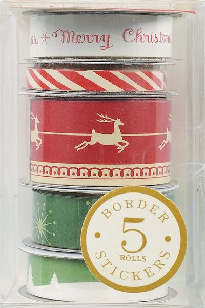 Anna Griffin Border Roll Stickers (Twinkle Bright Collection)