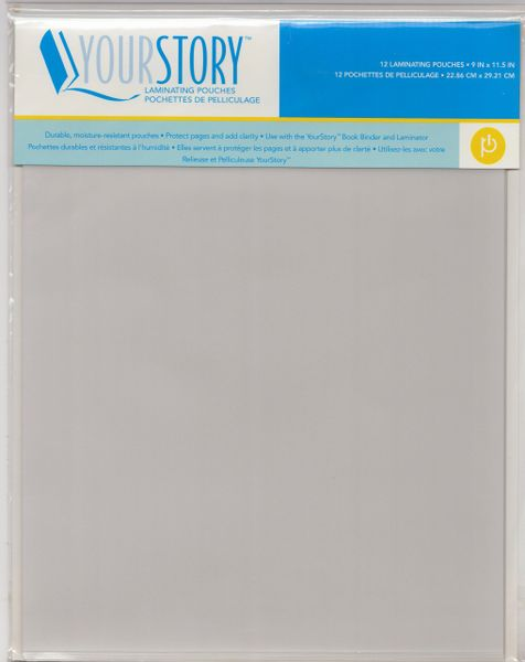 "Provo Craft 9"" x 11.5"" Your Story Laminating Pouches"