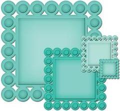 Spellbinders Nestabilities Beaded Squares S4-315