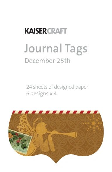 KaiserCraft Journal Tags (December 25th Collection)