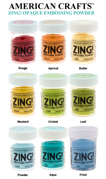 American Crafts Zing Opaque Embossing Powder