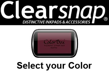 Clearsnap Colorbox Classic Pigment Ink Pads
