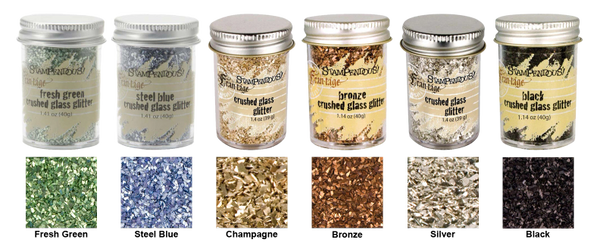 Stampendous Frantage Crushed Glitter Glass