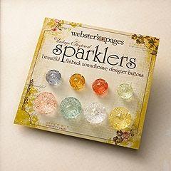 Webster's Pages Medallion Sparklers