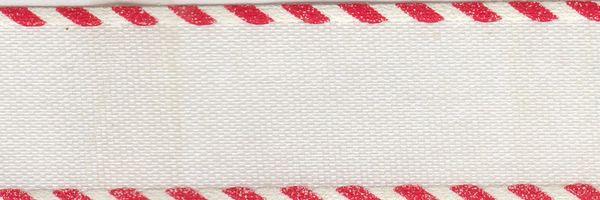 Celebrate It Ribbon 5/8 Inch White & Red Candy Cane Satin Ribbon