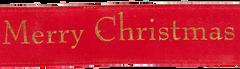 Celebrate It Ribbon 5/8 Inch Merry Christmas Satin Ribbon