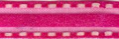Celebrate It Ribbon 3/8 Inch Hot Pink Sheer Satin Ribbon