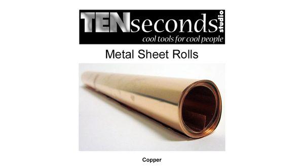 Ten Seconds Studio Real Copper Metal Rolls