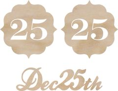 KaiserCraft Wooden Flourishes December