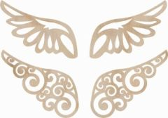 KaiserCraft Wooden Flourishes Wings