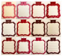 Anna Griffin Journal Tags (Valentina Collection)