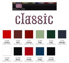 Bazzill Classic Cardstock