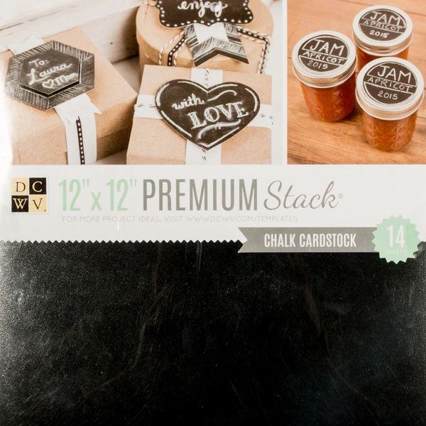 DCWV Chalk Cardstock Stack