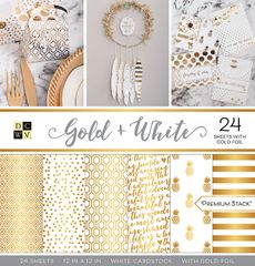 DCWV Gold & White Stack