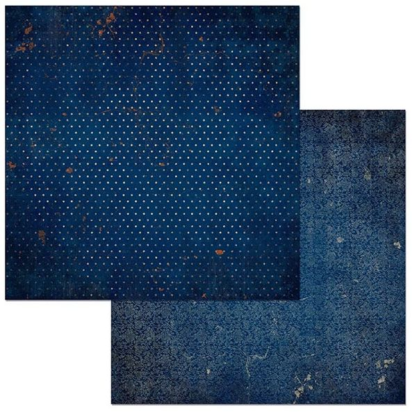 BoBunny Dark Denim Vintage (Double Dot Designs Collection)