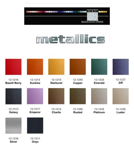Bazzill Metallic Cardstock