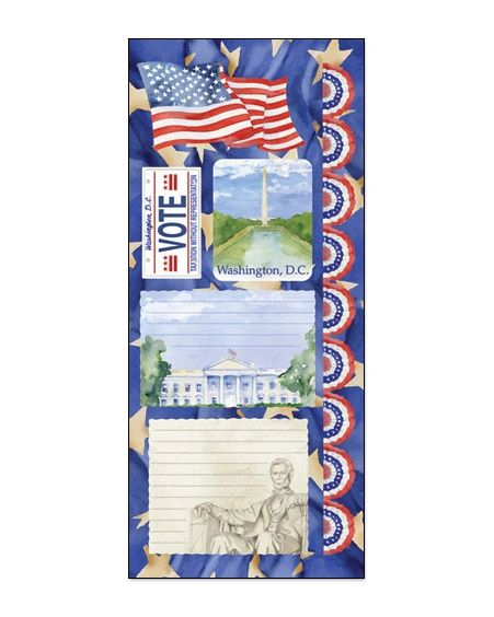 Creative Imaginations Washington DC Cardstock Stickers