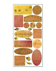 Creative Imaginations Thankful Foil Cardstock Stickers