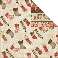 Creative Imaginations Stockings (Winter Woodland Collection)