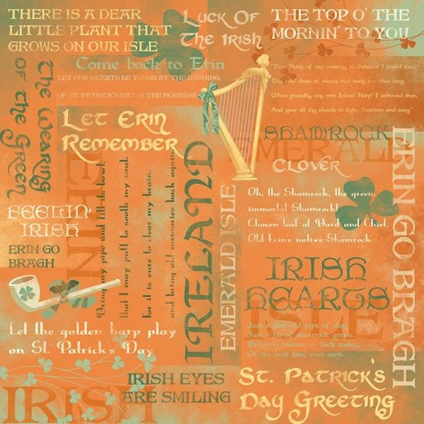 Karen Foster Irish Pride Collage (St. Patrick's Day Collection)