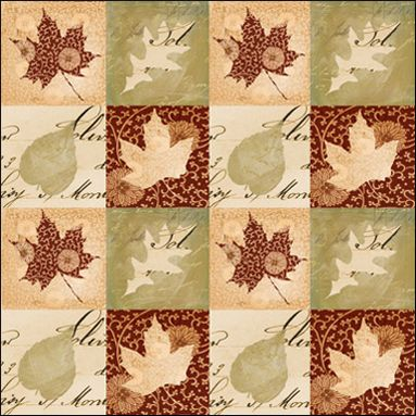 Creative Imaginations Harvest Grid (Homespun Harvest Collection)