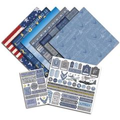 Creative Imaginations U.S. Air Force Scrapbook Kit (Signature Military Collection)