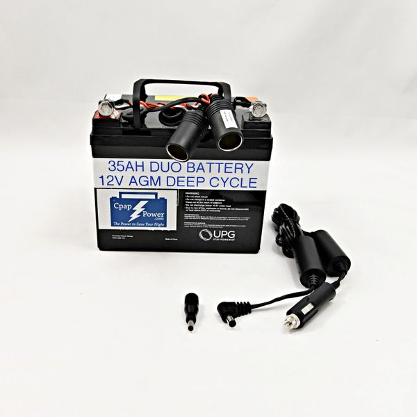 CADE: Most Brands Battery and Cpap Power Cord 4-8 Nights (Charger Not Included)