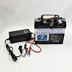 CADH: Battery and Charger 5-8 Nights (Power Cord Not Included)