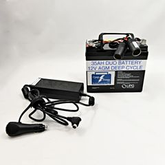 CLDE: ResMed S9 35AH Battery and Power Converter 4-8 Nights (Charger Not Included)