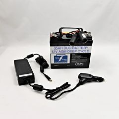 CRDE: ResMed Air Sense 10 or Air Curve 10 Battery and Power Converter 4-8 Nights (Charger Not Included)