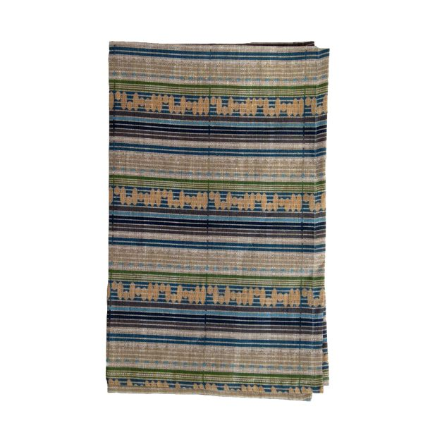 Late Summer Natural Linen Tea Towel