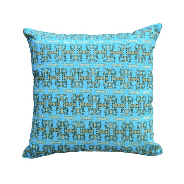 Turquoise Regal Wash Pillow