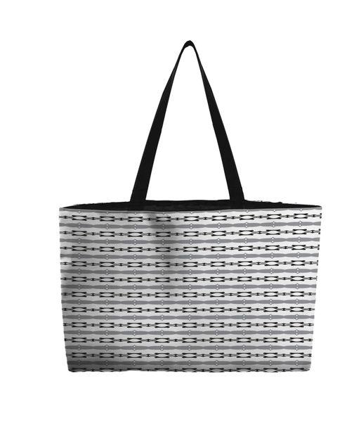 Weekend Tote Bag--Ace 2 Gray