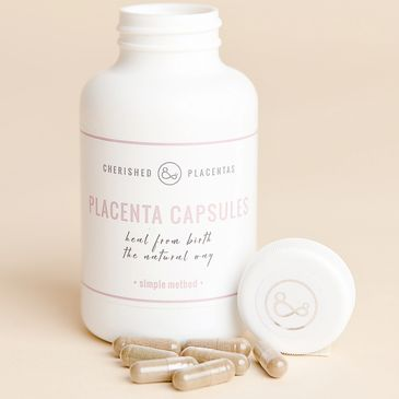 Placenta capsules to help your postnatal recovery