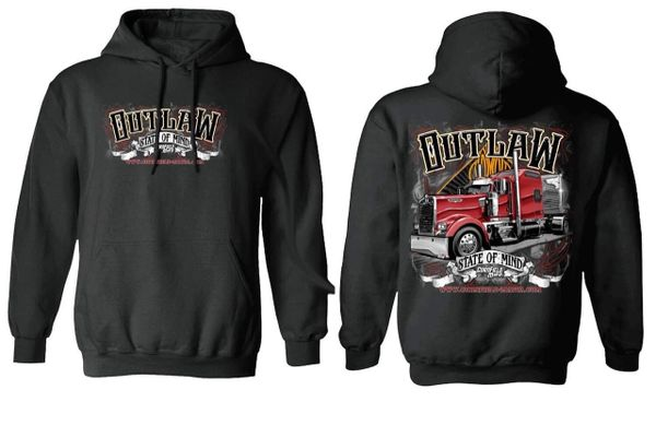 CFM - Outlaw State Of Mind - Polyester Hoodie