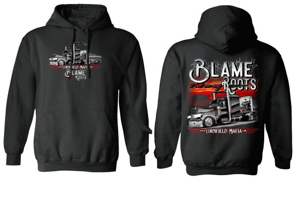 CFM - Blame It All On My Roots - Polyester Hoodie