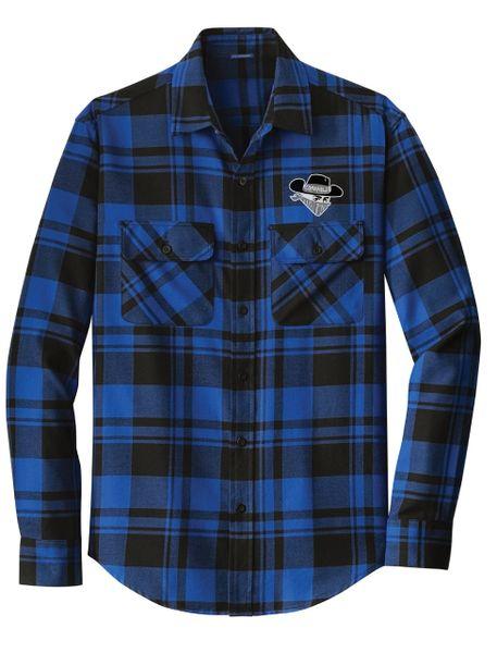 CFM - Bandit Flannel - Blue